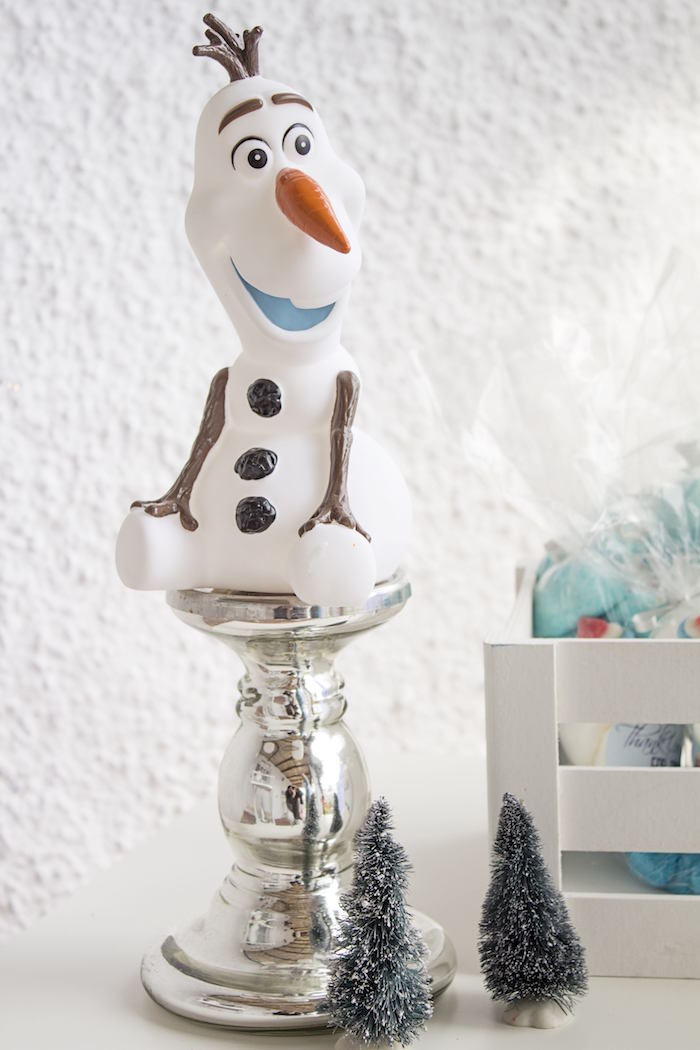 Olaf decoration from a Frozen Birthday Tea Party via Kara's Party Ideas KarasPartyIdeas.com (9)