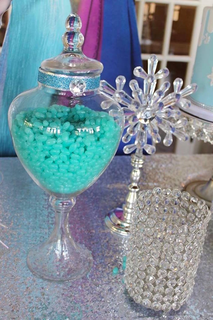 Details from a Frozen Themed Joint Birthday Party via Kara's Party Ideas | KarasPartyIdeas.com (14)