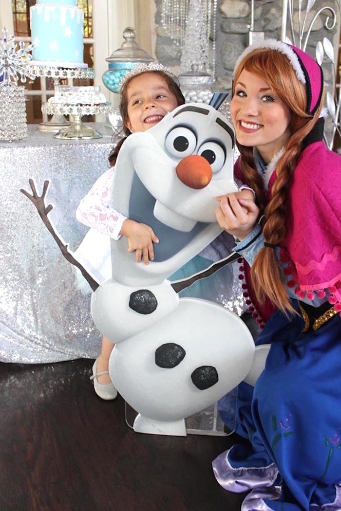 Party fun from a Frozen Themed Joint Birthday Party via Kara's Party Ideas | KarasPartyIdeas.com (23)