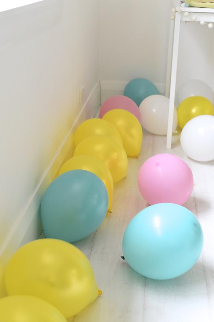 Balloons from a Happy Balloons Birthday Party via Kara's Party Ideas KarasPartyIdeas.com (4)