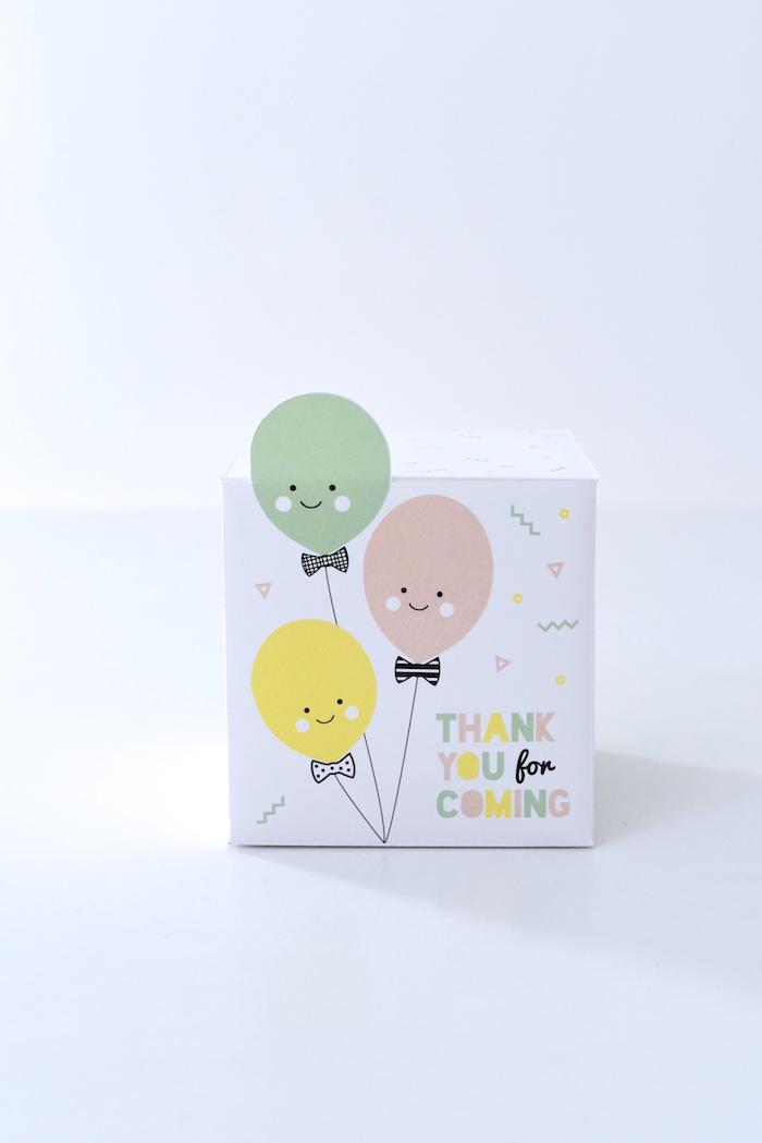 Lolly boxes from a Happy Balloons Birthday Party via Kara's Party Ideas KarasPartyIdeas.com (28)