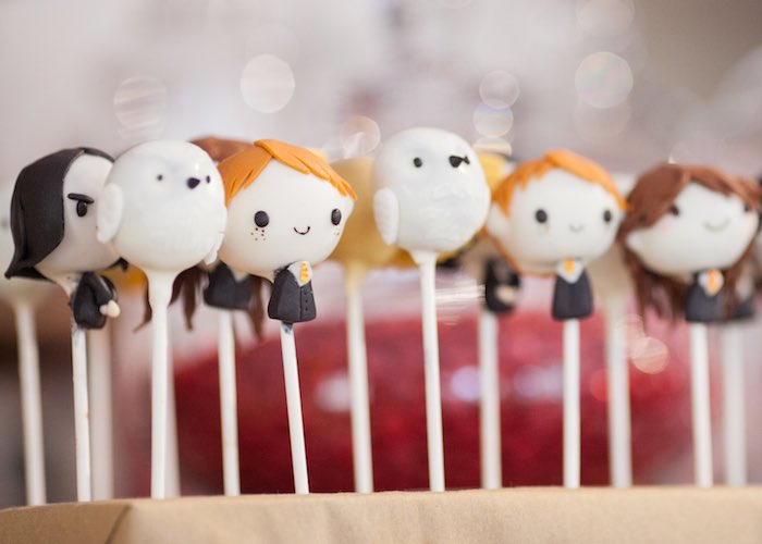 Cake pops from a Harry Potter Birthday Party via Kara's Party Ideas | KarasPartyIdeas.com (32)