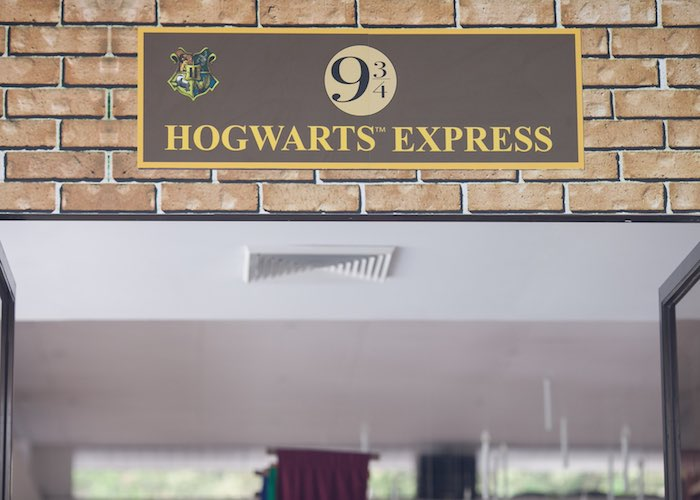 Signage from a Honeydukes Hogwarts & Harry Birthday Party via Kara's Party Ideas | KarasPartyIdeas.com (28)