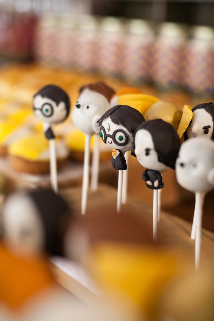 Cake pops from a Harry Potter Birthday Party via Kara's Party Ideas | KarasPartyIdeas.com (17)