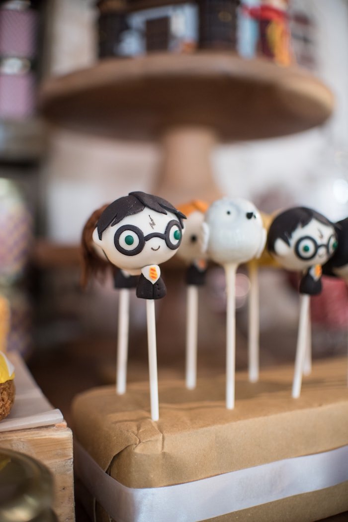 Cake pops from a Harry Potter Birthday Party via Kara's Party Ideas | KarasPartyIdeas.com (8)