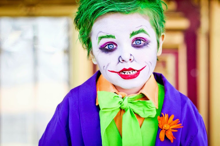 The Joker from a Joker Inspired Mad Love Birthday Party via Kara's Party Ideas | KarasPartyIdeas.com - The Place for All Things Party! (69)