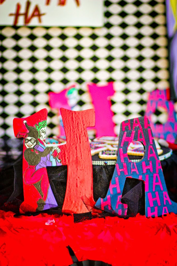 Kara S Party Ideas Joker Inspired Quot Mad Love Quot Birthday