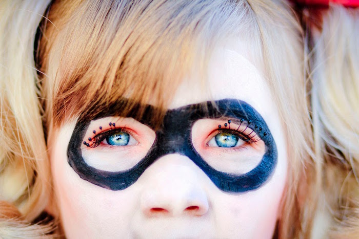 Harley Quinn from a Joker Inspired Mad Love Birthday Party via Kara's Party Ideas | KarasPartyIdeas.com - The Place for All Things Party! (23)