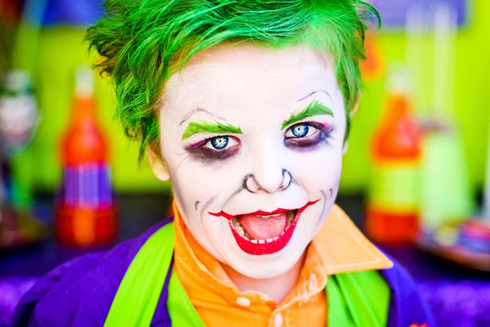 The Joker from a Joker Inspired Mad Love Birthday Party via Kara's Party Ideas | KarasPartyIdeas.com - The Place for All Things Party! (20)