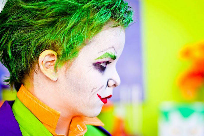 The Joker from a Joker Inspired Mad Love Birthday Party via Kara's Party Ideas | KarasPartyIdeas.com - The Place for All Things Party! (18)
