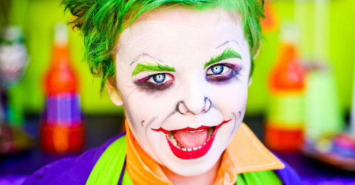 The Joker from a Joker Inspired Mad Love Birthday Party via Kara's Party Ideas | KarasPartyIdeas.com - The Place for All Things Party! (3)