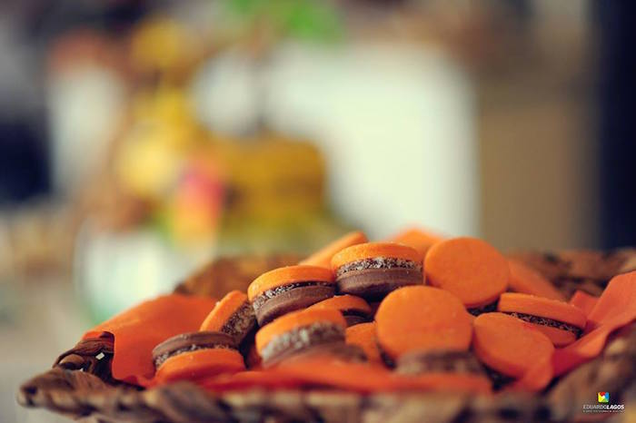 Mini macarons + cookies from a Madagascar Jungle Safari Birthday Party via Kara's Party Ideas KarasPartyIdeas.com (27)