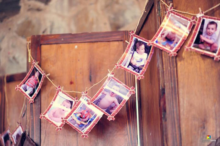 Photo banner from a Madagascar Jungle Safari Birthday Party via Kara's Party Ideas KarasPartyIdeas.com (5)