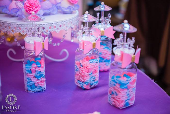 Favor Bottles from a Mary Poppins Carousel Themed Birthday Party via Kara's Party Ideas - KarasPartyIdeas.com (41)
