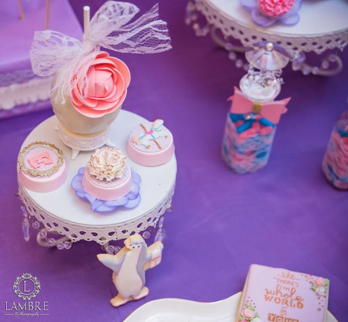 Sweets from a Mary Poppins Carousel Themed Birthday Party via Kara's Party Ideas - KarasPartyIdeas.com (27)