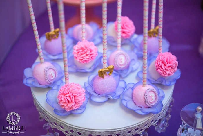Cake Pops from a Mary Poppins Carousel Themed Birthday Party via Kara's Party Ideas - KarasPartyIdeas.com (51)