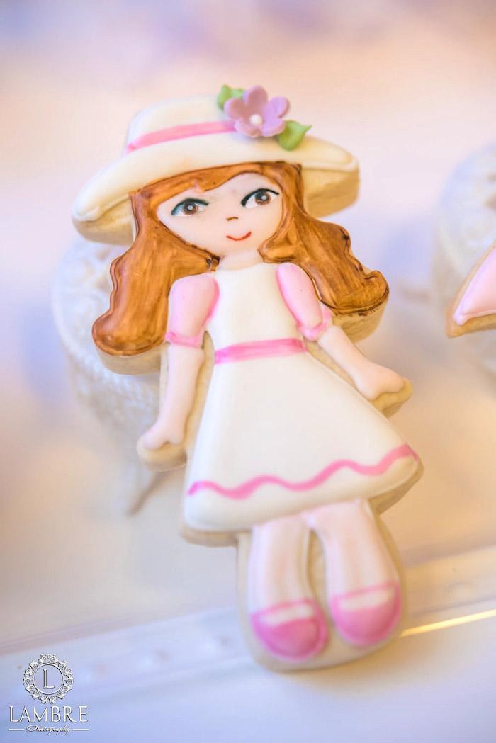 Cookie from a Mary Poppins Carousel Themed Birthday Party via Kara's Party Ideas - KarasPartyIdeas.com (21)