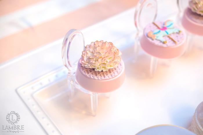 Chocolate Covered Oreo from a Mary Poppins Carousel Themed Birthday Party via Kara's Party Ideas - KarasPartyIdeas.com (16)