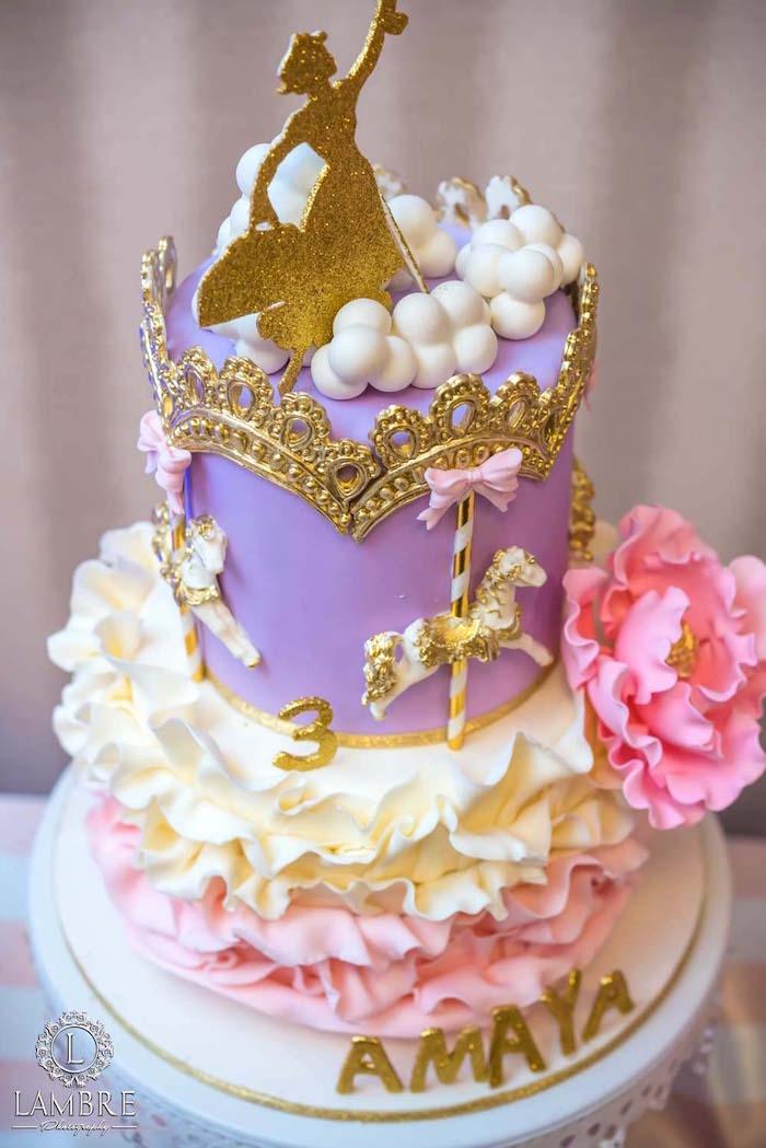 Kara S Party Ideas Mary Poppins Carousel Themed Birthday