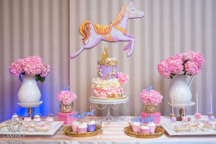 Kara's Party Ideas Mary Poppins Carousel Themed Birthday ...