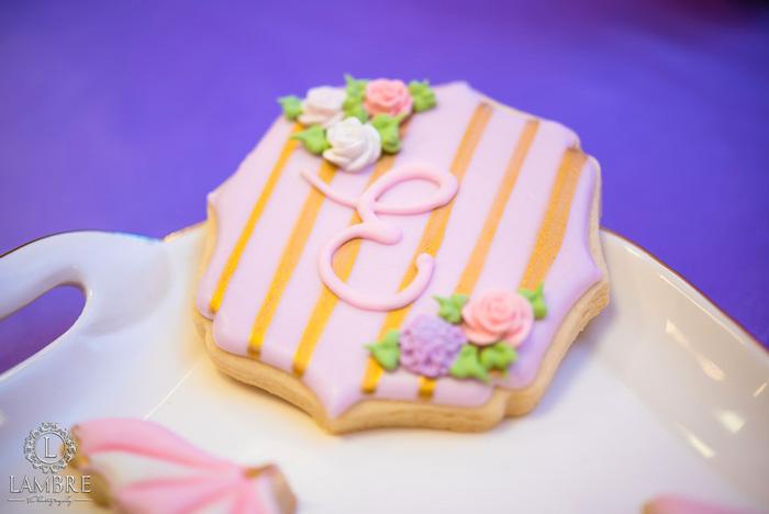 Cookie from a Mary Poppins Carousel Themed Birthday Party via Kara's Party Ideas - KarasPartyIdeas.com (47)