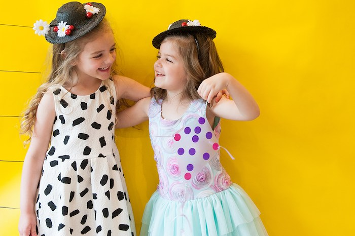 Photo booth fun from a Mary Poppins Themed Birthday Party via Kara's Party Ideas | KarasPartyIdeas.com - The Place for All Things Party! (9)