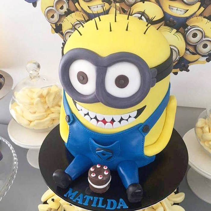 Karas Party Ideas Welcome Minions Birthday Party