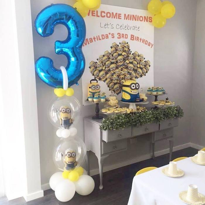 Minions Birthday Party via Kara's Party Ideas | KarasPartyIdeas.com (9)