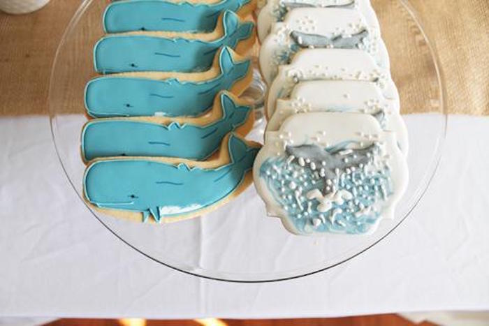 Kara S Party Ideas Moby Dick Whale Themed Birthday Party