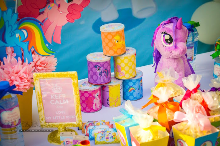 Details from a My Little Pony Birthday Party via Kara's Party Ideas | KarasPartyIdeas.com (26)