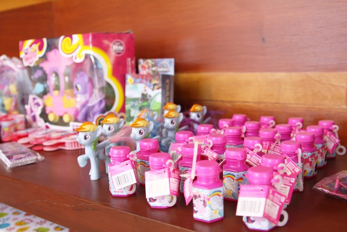 Favors from a My Little Pony Birthday Party via Kara's Party Ideas | KarasPartyIdeas.com (14)