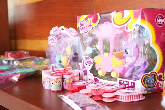 Favors from a My Little Pony Birthday Party via Kara's Party Ideas | KarasPartyIdeas.com (13)
