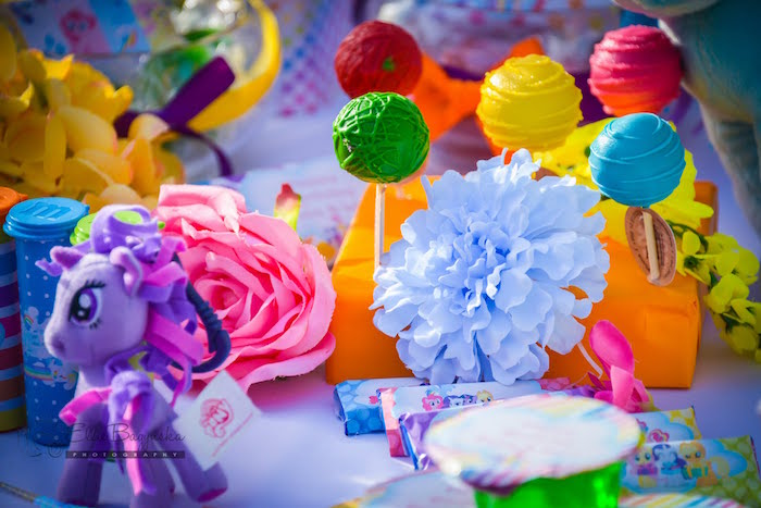 Cake pops from a My Little Pony Birthday Party via Kara's Party Ideas   KarasPartyIdeas.com (19)