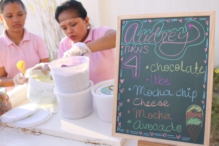 Ice cream buffet from a My Little Pony Birthday Party via Kara's Party Ideas | KarasPartyIdeas.com (10)