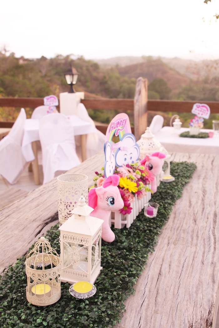 Karas Party Ideas My Little Pony Pastel Birthday
