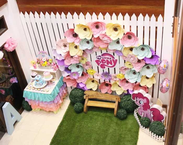 My Little Pony Birthday Party via Kara's Party Ideas | KarasPartyIdeas.com (7)