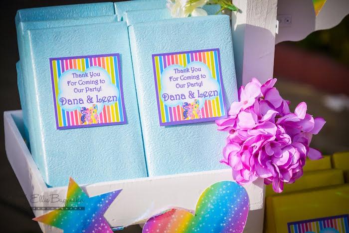 Favors from a My Little Pony Birthday Party via Kara's Party Ideas   KarasPartyIdeas.com (13)