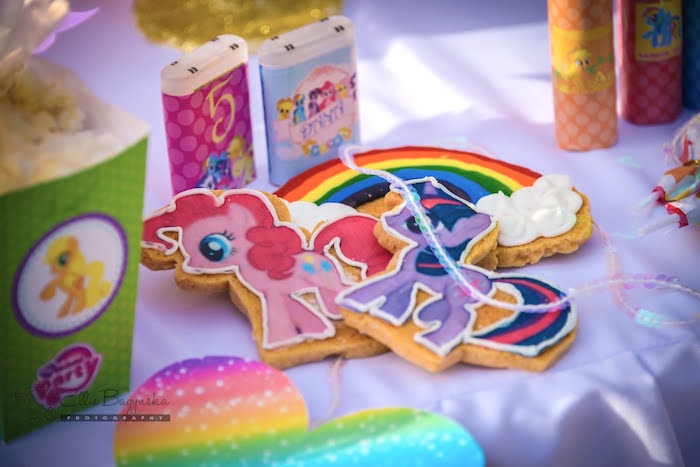 Cookies from a My Little Pony Birthday Party via Kara's Party Ideas | KarasPartyIdeas.com (11)