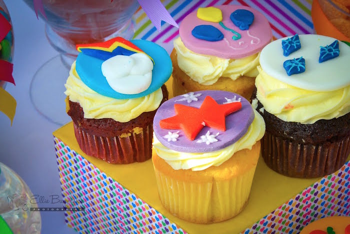 Cupcakes from a My Little Pony Birthday Party via Kara's Party Ideas   KarasPartyIdeas.com (38)