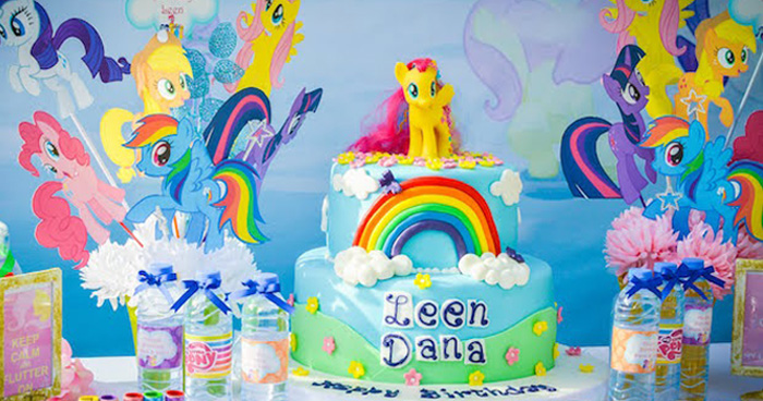 My Little Pony Birthday Party via Kara's Party Ideas | KarasPartyIdeas.com (1)