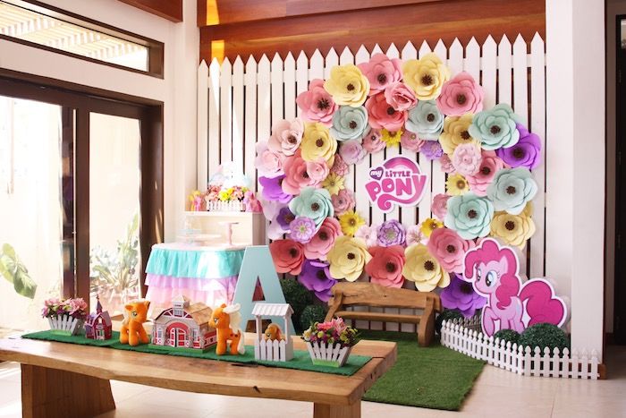 My Little Pony Pastel Birthday Party via Kara's Party Ideas | KarasPartyIdeas.com (27)