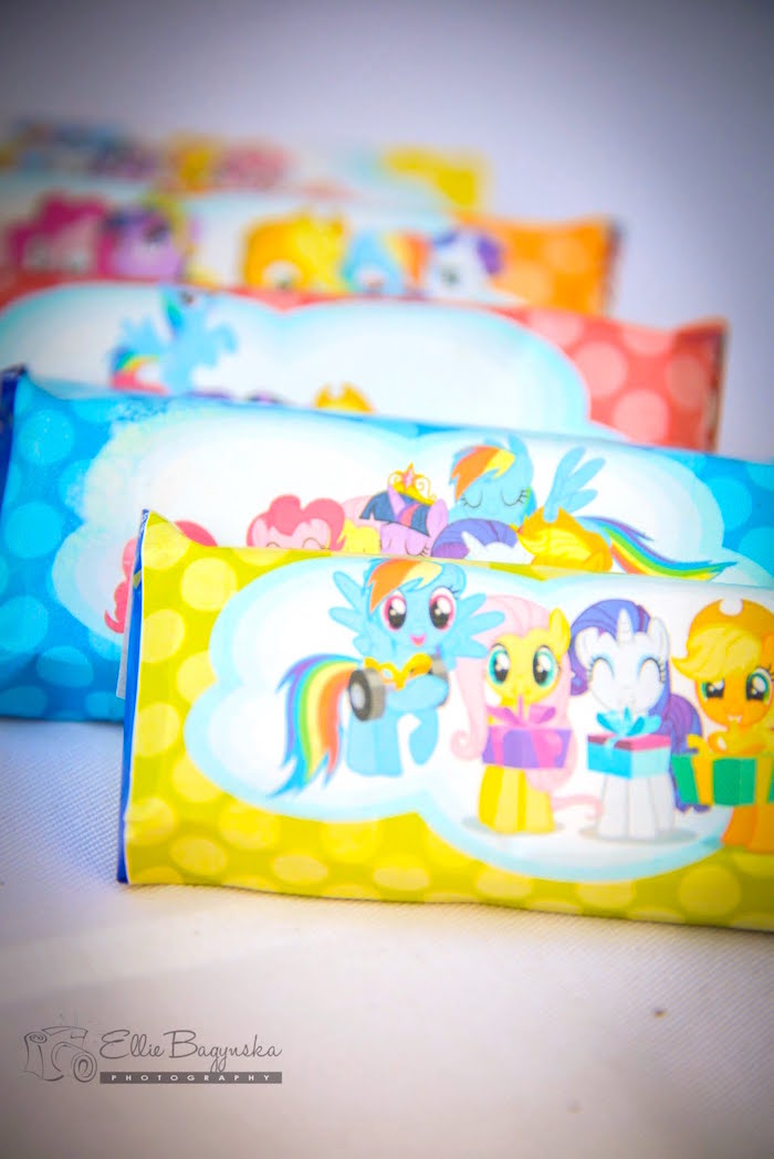 Favors from a My Little Pony Birthday Party via Kara's Party Ideas   KarasPartyIdeas.com (33)