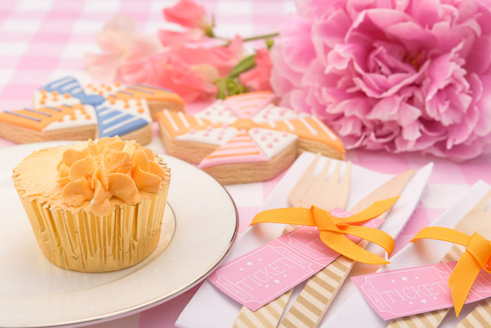 Adorable party details from a Pastel County Fair Themed Birthday Party via Kara's Party Ideas KarasPartyIdeas.com (4)