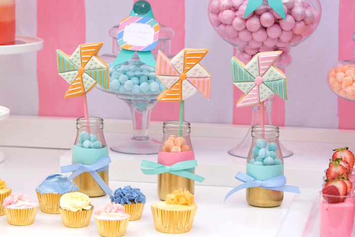Sweets & treats from a Pastel County Fair Themed Birthday Party via Kara's Party Ideas KarasPartyIdeas.com (18)