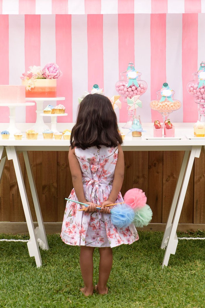 Pastel County Fair Themed Birthday Party via Kara's Party Ideas KarasPartyIdeas.com (17)