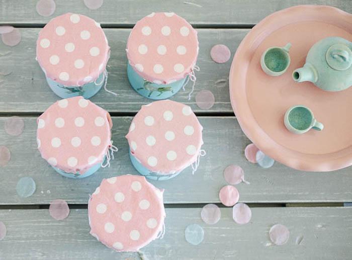 Woodland Favor Jar Tops from a Pastel Fairy Themed Birthday Party via Kara's Party Ideas | KarasPartyIdeas.com (19)