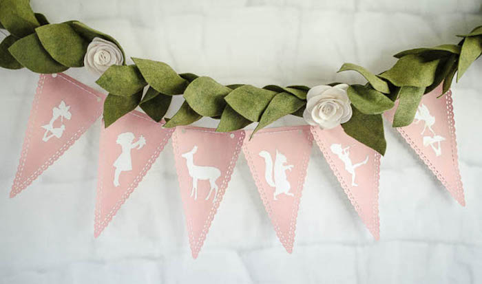 Banner from a Pastel Fairy Themed Birthday Party via Kara's Party Ideas | KarasPartyIdeas.com (16)