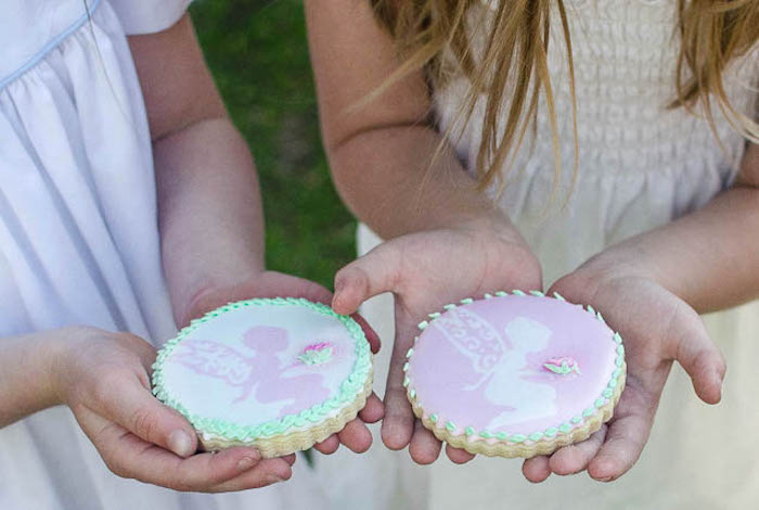 Cookies from a Pastel Fairy Themed Birthday Party via Kara's Party Ideas | KarasPartyIdeas.com (14)