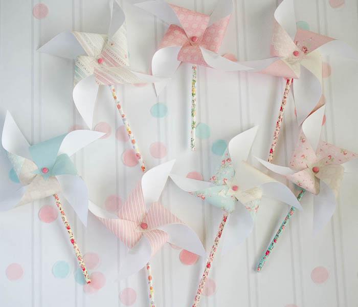 Pinwheels from a Pastel Fairy Themed Birthday Party via Kara's Party Ideas | KarasPartyIdeas.com (28)