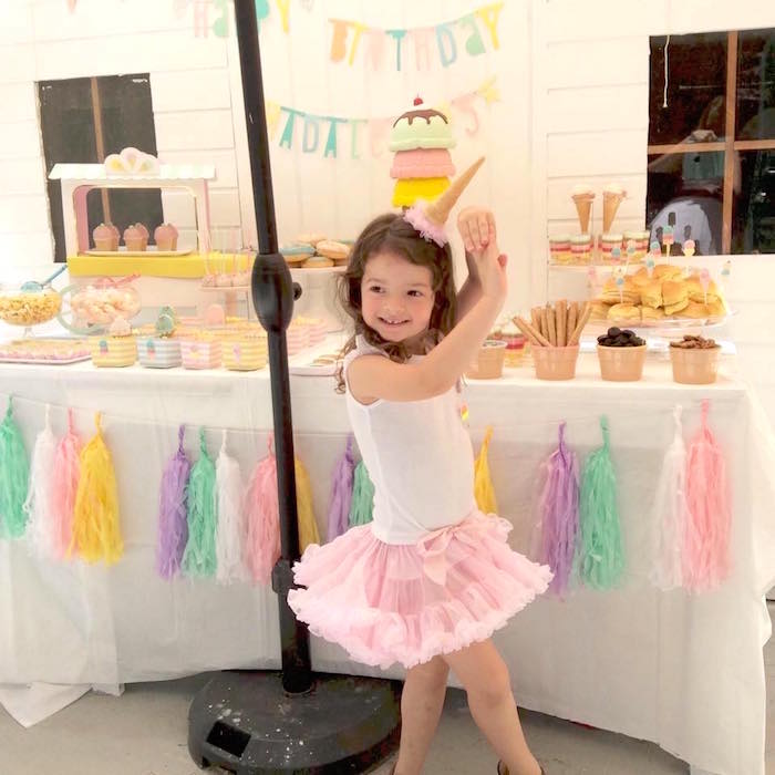 Pastel Ice Cream Party via Kara's Party Ideas | KarasPartyIdeas.com (6)